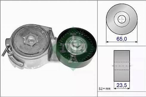 INA 534 0069 10 - Tendeur, courroie trapézoïdale à nervures www.widencarpieces.com