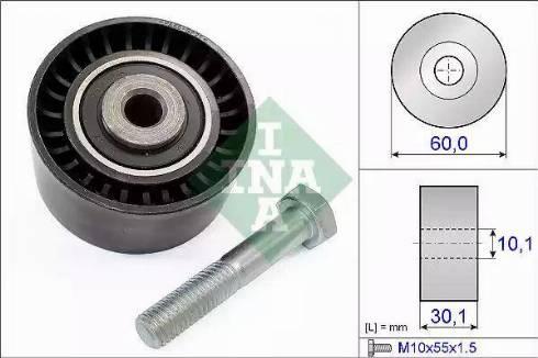 INA 532 0020 10 - Poulie renvoi/transmission, courroie de distribution www.widencarpieces.com