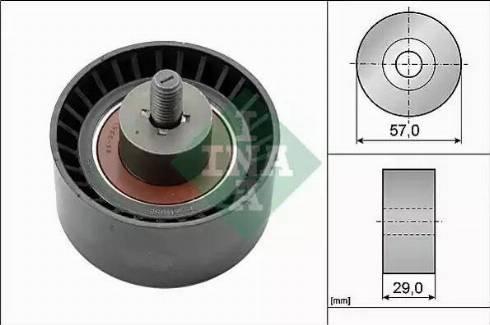INA 532 0120 10 - Poulie renvoi/transmission, courroie de distribution www.widencarpieces.com