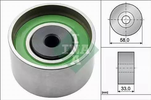 INA 532 0386 20 - Poulie renvoi/transmission, courroie de distribution www.widencarpieces.com