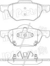 IPS Parts IBD-1488 - Kit de plaquettes de frein, frein à disque www.widencarpieces.com