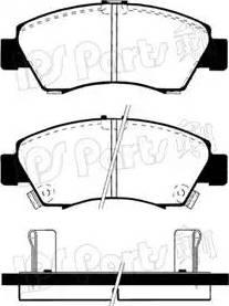 IPS Parts IBD-1425 - Kit de plaquettes de frein, frein à disque www.widencarpieces.com