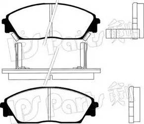 IPS Parts IBD-1423 - Kit de plaquettes de frein, frein à disque www.widencarpieces.com