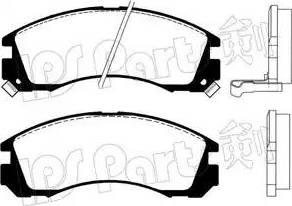 IPS Parts IBD-1599 - Kit de plaquettes de frein, frein à disque www.widencarpieces.com