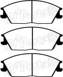 IPS Parts IBD-1594 - Kit de plaquettes de frein, frein à disque www.widencarpieces.com