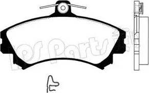 IPS Parts IBD-1593 - Kit de plaquettes de frein, frein à disque www.widencarpieces.com