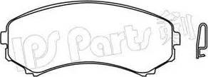 IPS Parts IBD-1509 - Kit de plaquettes de frein, frein à disque www.widencarpieces.com