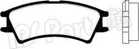 IPS Parts IBD-1583 - Kit de plaquettes de frein, frein à disque www.widencarpieces.com
