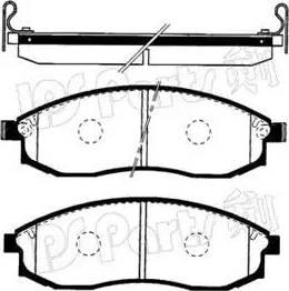 IPS Parts IBD-1582 - Kit de plaquettes de frein, frein à disque www.widencarpieces.com