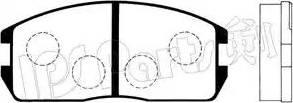 IPS Parts IBD-1524 - Kit de plaquettes de frein, frein à disque www.widencarpieces.com