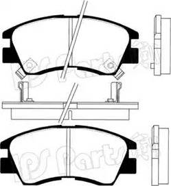 IPS Parts IBD-1527 - Kit de plaquettes de frein, frein à disque www.widencarpieces.com