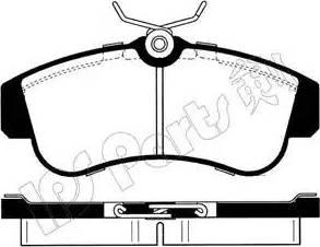 IPS Parts IBD-1015 - Kit de plaquettes de frein, frein à disque www.widencarpieces.com