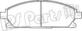 IPS Parts IBD-1154 - Kit de plaquettes de frein, frein à disque www.widencarpieces.com