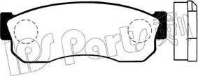 IPS Parts IBD-1101 - Kit de plaquettes de frein, frein à disque www.widencarpieces.com