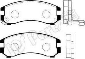 IPS Parts IBD-1135 - Kit de plaquettes de frein, frein à disque www.widencarpieces.com