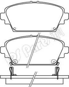 IPS Parts IBD-1176 - Kit de plaquettes de frein, frein à disque www.widencarpieces.com