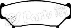 IPS Parts IBD-1897 - Kit de plaquettes de frein, frein à disque www.widencarpieces.com