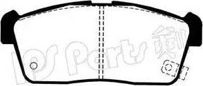 IPS Parts IBD-1809 - Kit de plaquettes de frein, frein à disque www.widencarpieces.com