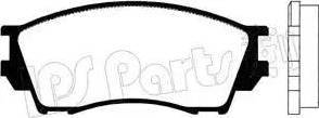 IPS Parts IBD-1382 - Kit de plaquettes de frein, frein à disque www.widencarpieces.com