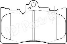 IPS Parts IBD-1207 - Kit de plaquettes de frein, frein à disque www.widencarpieces.com