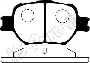 IPS Parts IBD-1212 - Kit de plaquettes de frein, frein à disque www.widencarpieces.com