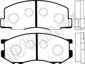 IPS Parts IBD-1239 - Kit de plaquettes de frein, frein à disque www.widencarpieces.com