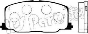 IPS Parts IBD-1237 - Kit de plaquettes de frein, frein à disque www.widencarpieces.com