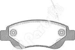 IPS Parts IBD-1274 - Kit de plaquettes de frein, frein à disque www.widencarpieces.com