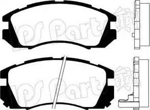 IPS Parts IBD-1705 - Kit de plaquettes de frein, frein à disque www.widencarpieces.com