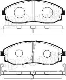 IPS Parts IBD-1H02 - Kit de plaquettes de frein, frein à disque www.widencarpieces.com