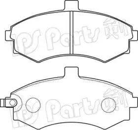 IPS Parts IBD-1H14 - Kit de plaquettes de frein, frein à disque www.widencarpieces.com