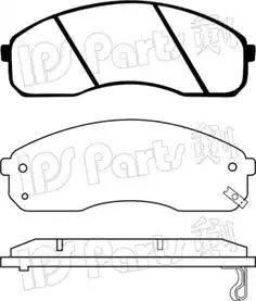 IPS Parts IBD-1K05 - Kit de plaquettes de frein, frein à disque www.widencarpieces.com