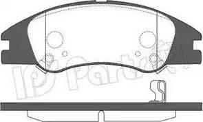IPS Parts IBD-1K15 - Kit de plaquettes de frein, frein à disque www.widencarpieces.com