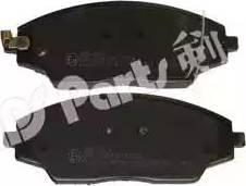 IPS Parts IBD-1W13 - Kit de plaquettes de frein, frein à disque www.widencarpieces.com