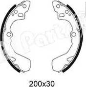 IPS Parts IBL-4006 - Mâchoire de frein www.widencarpieces.com
