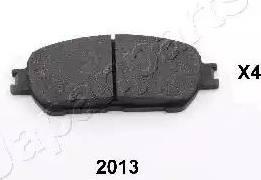 Japanparts PA-2013AF - Kit de plaquettes de frein, frein à disque www.widencarpieces.com