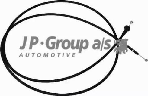 JP Group 1170700200 - Tirette de capot moteur www.widencarpieces.com