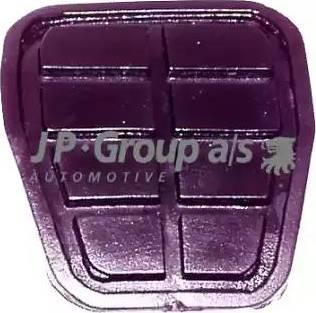 JP Group 1172200100 - Revêtement de pédale, pédale de frein www.widencarpieces.com