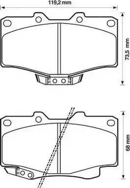 Jurid 572140J - Kit de plaquettes de frein, frein à disque www.widencarpieces.com