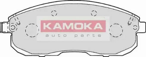 Kamoka JQ101106 - Kit de plaquettes de frein, frein à disque www.widencarpieces.com