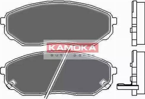 Kamoka JQ101115 - Kit de plaquettes de frein, frein à disque www.widencarpieces.com