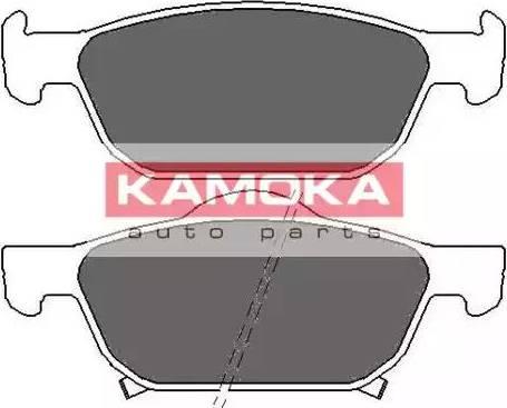 Kamoka JQ101138 - Kit de plaquettes de frein, frein à disque www.widencarpieces.com