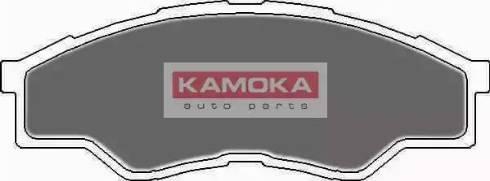 Kamoka JQ101127 - Kit de plaquettes de frein, frein à disque www.widencarpieces.com