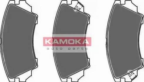 Kamoka JQ1018414 - Kit de plaquettes de frein, frein à disque www.widencarpieces.com