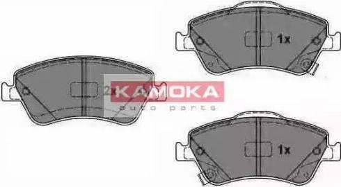 Kamoka JQ1018092 - Kit de plaquettes de frein, frein à disque www.widencarpieces.com