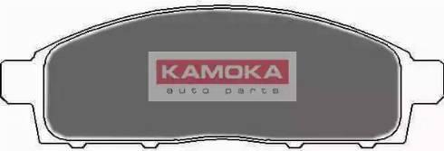 Kamoka JQ1018046 - Kit de plaquettes de frein, frein à disque www.widencarpieces.com