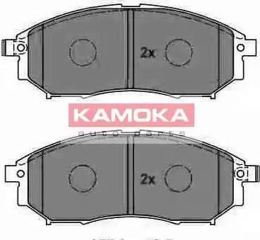 Kamoka JQ1013994 - Kit de plaquettes de frein, frein à disque www.widencarpieces.com