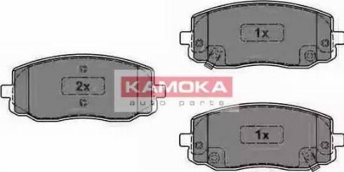 Kamoka JQ1013566 - Kit de plaquettes de frein, frein à disque www.widencarpieces.com