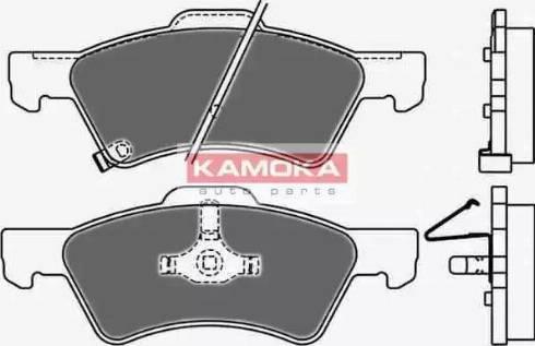 Kamoka JQ1013020 - Kit de plaquettes de frein, frein à disque www.widencarpieces.com