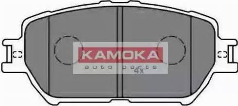 Kamoka JQ1013240 - Kit de plaquettes de frein, frein à disque www.widencarpieces.com
